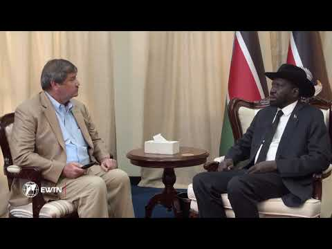 Interview with South Sudan President Salva Kiir Mayardit