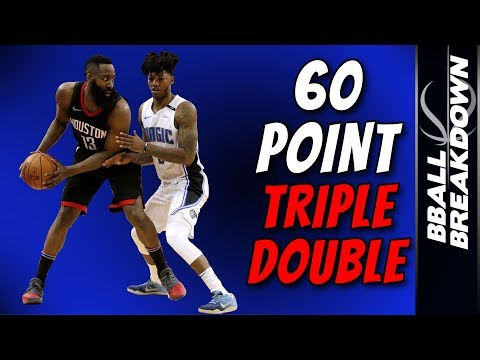 James Harden: The ONLY 60 POINT Triple Double EVER