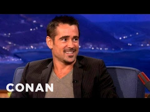 Colin Farrell On Kissing Kate Beckinsale While Her Husband Directs - CONAN on TBS