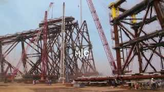 Offshore Construction - HGG Pipe Cutting Machine at PJOE - Case Study