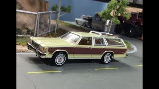 New Greenlight Ford LTD Station Wagon