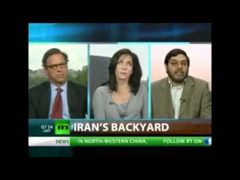 The woman who loved Ahmadinejad with Marandi  Isla...