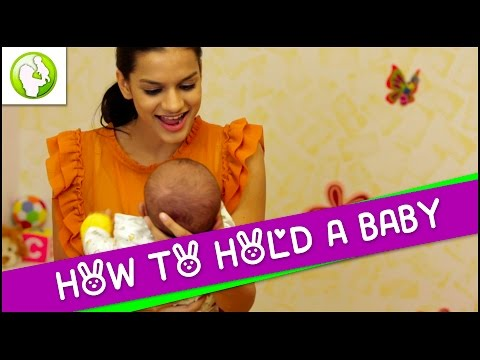 How To Hold A Baby – Newborn Care
