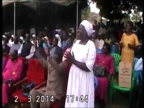 New Bishop of Lainya Diocese 2014 part1