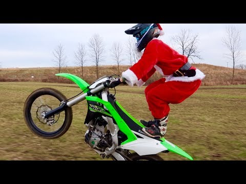 SANTA STOLE MY DIRT BIKE!