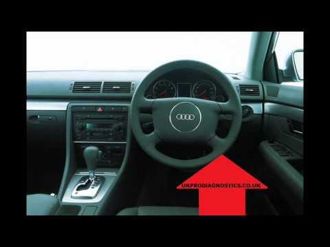 Audi A4 B6 Diagnostic OBD2 Port Location Video - YouTube