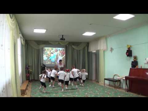 Физкультурное занятие в средней группе. Филипова Люция Михайловна.