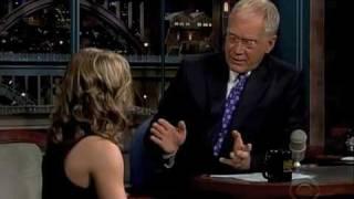 Shawn Johnson on David Letterman (Part 1/2)