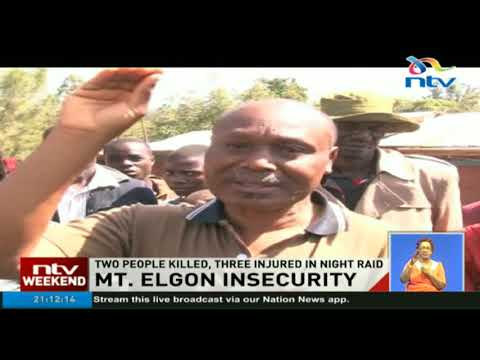 Two people killed, three injured in Mt Elgon night raid