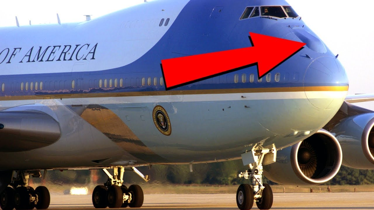 10 Amazing Things About Air Force One Youtube