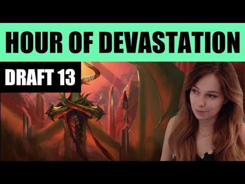 Hour of Devastation Draft #13 / HOU / Magic: The Gathering MTG