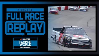 ToyotaCare 250 from Ricнmond Raceway | NASCAR Camping World Truck Series Full Race Replay