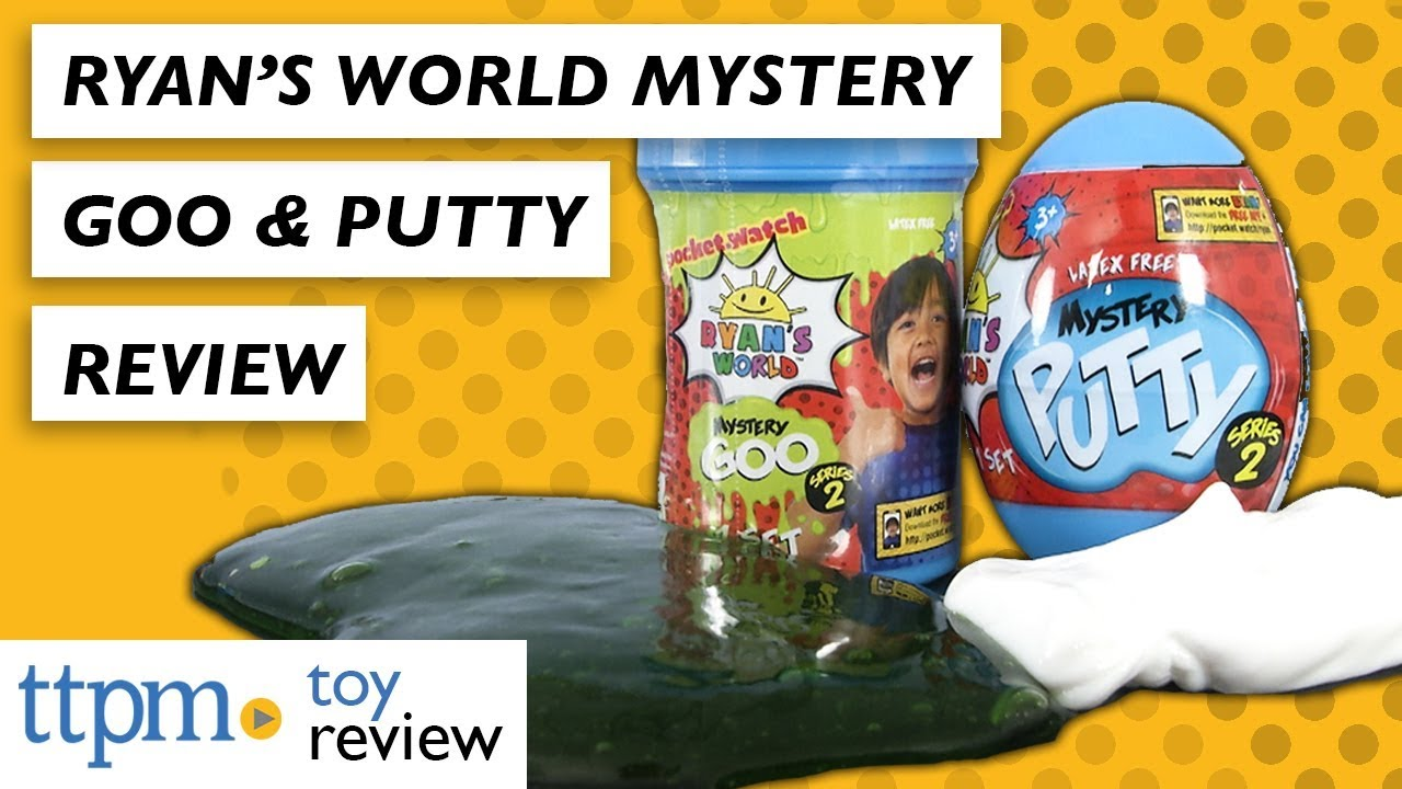 Ryans World Mystery Putty Egg Series 2 NEW
