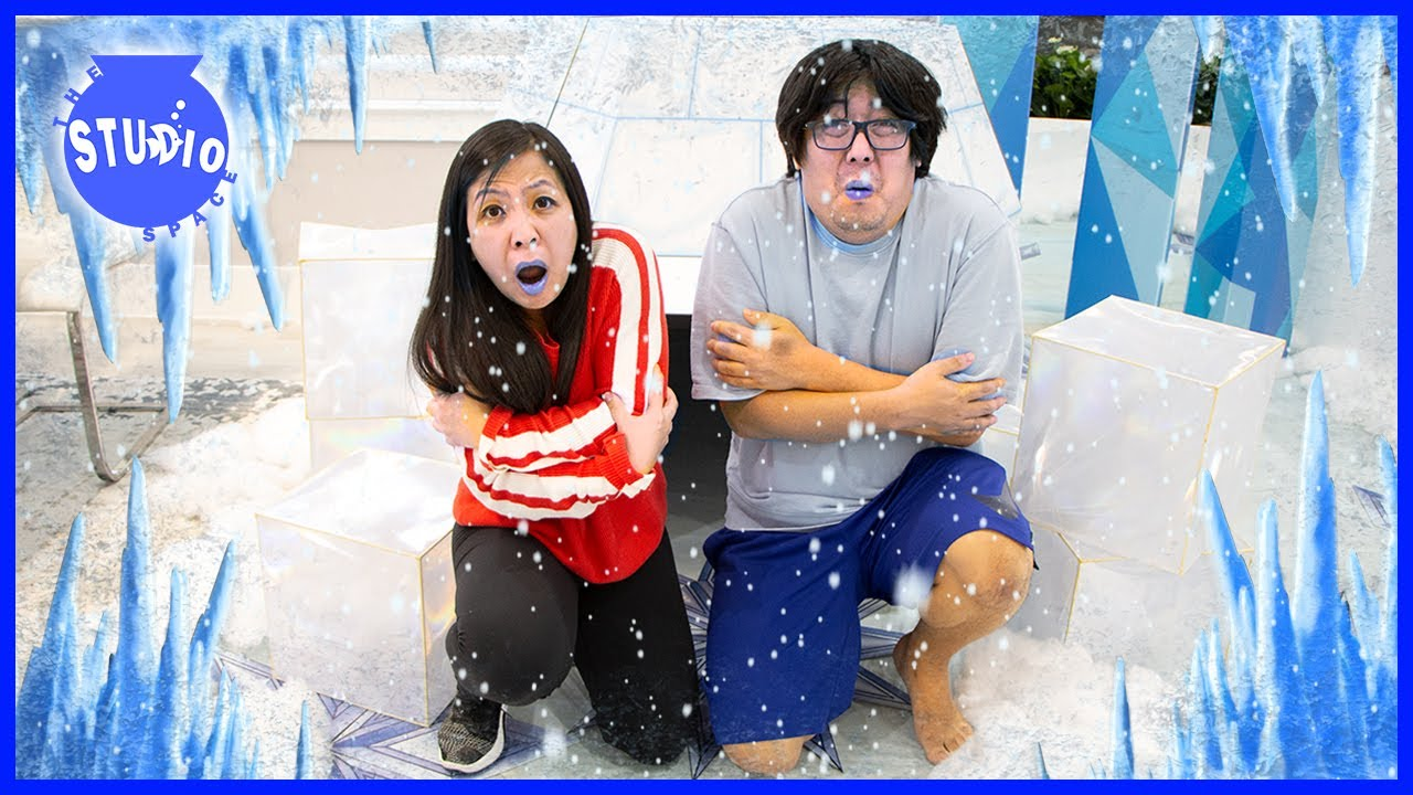 Crazy Adventure Stories with Ryan's Mommy! FROZEN PRANKS and WOULD YOU RATHER!?