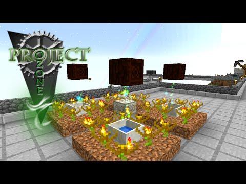 Minecraft Mods Project Ozone - JADED AMARANTHUS [E35] (Modded HQM Sky Block)