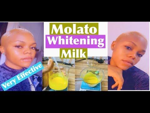 How To Make Effective Whitening Molato Milk Molato Lotion Whitening Milk Youtube