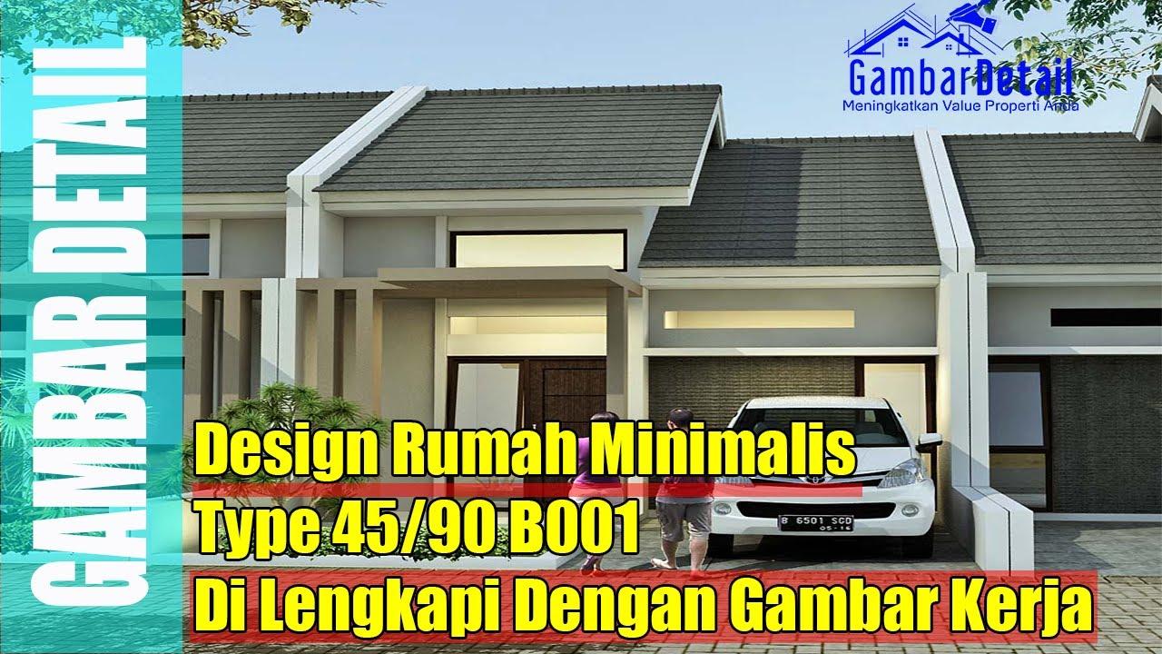 Desain Rumah Minimalis Type 45 90 L Desain Interior L Desain Arsitek