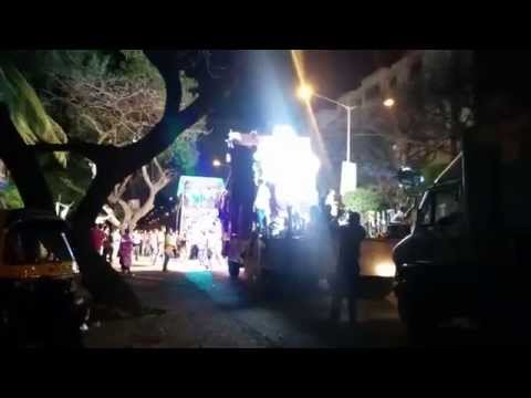Ganpati Visarjan / Ganesh Chaturthi Celebration in Mumbai DJ Music | India 2015
