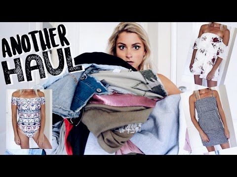 another try on haul because I CAN'T BE TAMED