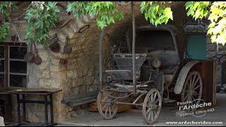 Ardèche - La tour et le village de Chapias (4K)