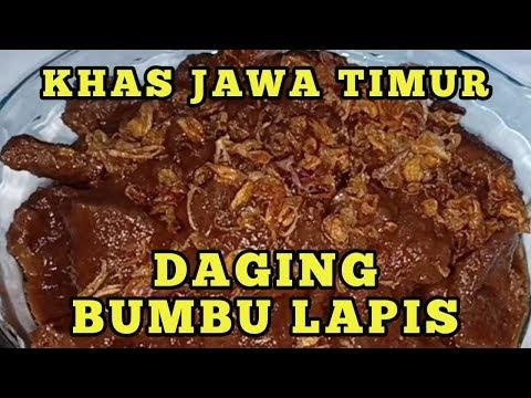 DAGING MASAK BUMBU LAPIS, SEMUR ALA JAWA TIMUR