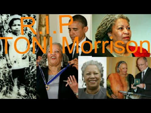 TONI Morrison dies age of 88 ,she said i want to feel what i feel even if its not  happiness
