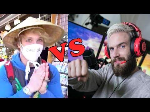 Japan Reacts To Logan Paul VS PewDiePie Japan Vlogs