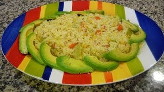 Yellow Rice Coastal Style How to Mexican Yellow rice, recipe