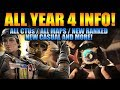 Rainbow Six Siege - In Depth: ALL YEAR 4 INFO! CTUs / MAPS/ NEW RANKED / NEW CASUAL