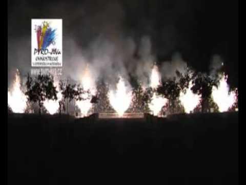 Zahradní ohňostoj Pyro-Jiva