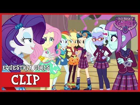 The Rainbooms Meet Crystal Prep | MLP: Equestria Girls | Friendship Games! [HD]
