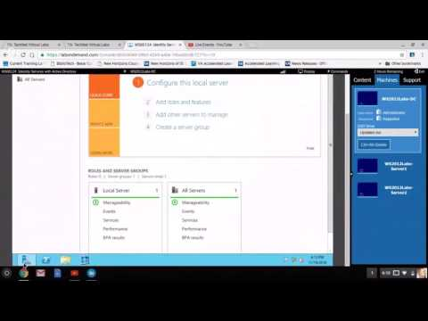 Virtual Lab Demo - Active Directory