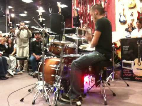 david noller drum off 2009 guitar center november 5 denver district finals co youtube. Black Bedroom Furniture Sets. Home Design Ideas