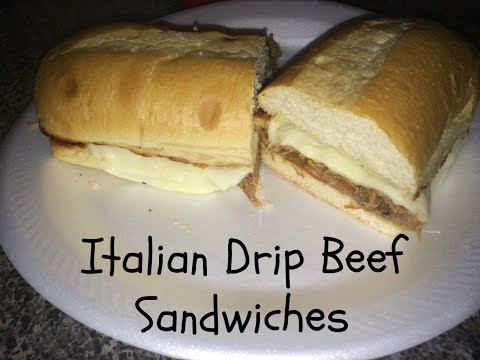 Italian Drip Beef Sandwiches from Leftover Mississippi Roast