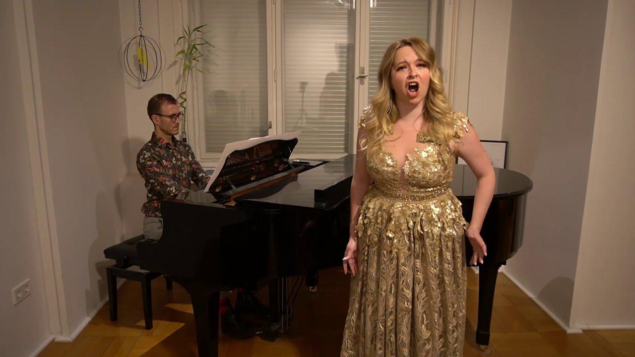 """Anabela Baric, soprano """"Da Tempeste il legno infranto"""" , from Handel's opera Giuilio Cesare."""
