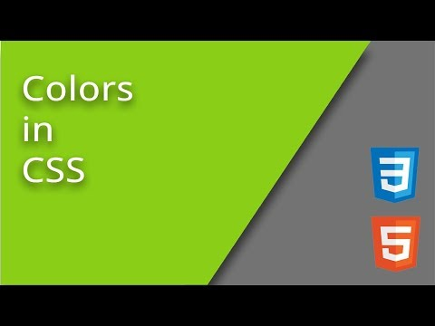 CSS Color Property Values