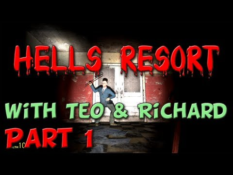 Funny Freakouts Playthrough with Teo and Richard - Part 1 (Hells Resort)