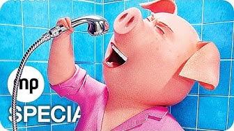 SING Film Clips & Trailer German Deutsch (2016)
