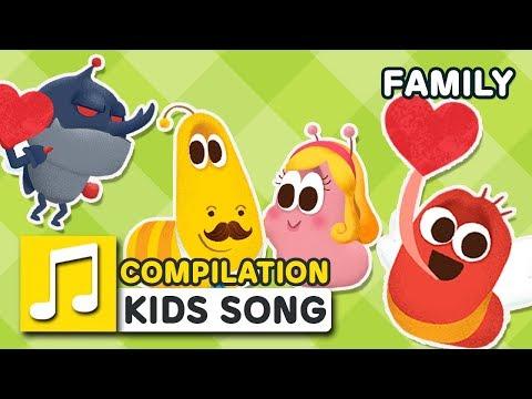 FAMILY SONG COMPILATION | LARVA KIDS | SUPER BEST SONGS FOR KIDS |  FAMILY SONG
