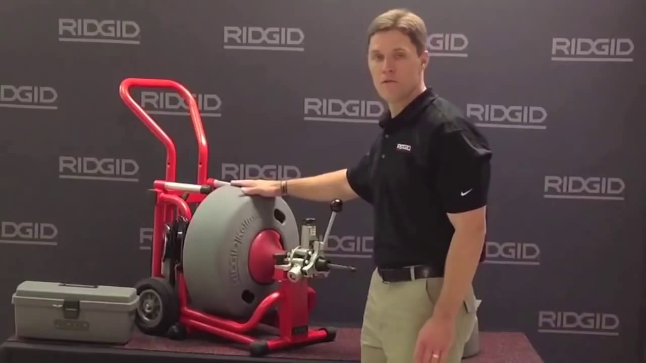 ridgid k 6200 drum machine