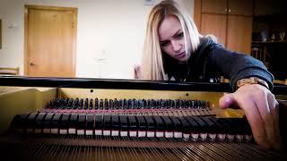 Бумер на скрипке и пианино