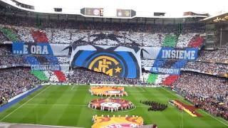 Tifo Inter champions league final 2010