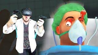 СТАЛ ВРАЧОМ - СИМУЛЯТОР ХИРУРГА VR (Surgeon Simulator VR) HTC VIVE