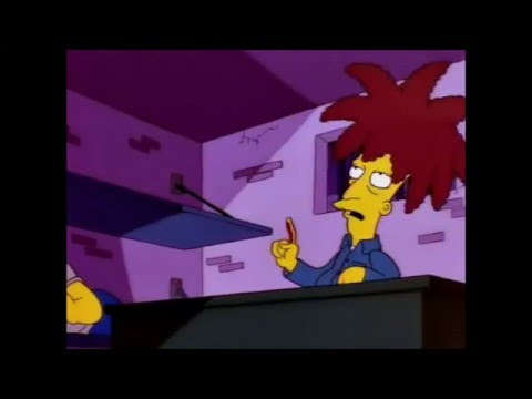 The Simpsons Use A Pen Sideshow Bob Youtube