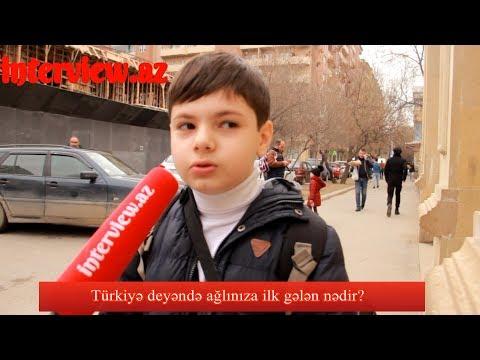 Türkiyə Deyəndə Ağlınıza Ilk Gələn Nədir?