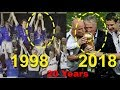 History Repeats | Didier Deschamps lifts the trophy again |  France wins worldc…