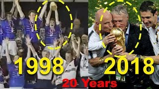 History Repeats | Didier Deschamps lifts the trophy again |  France wins worldcup after 20 years