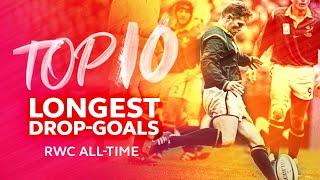🤯 Top Ten Longest Drop-Goals in Rugby World Cup History 🤯