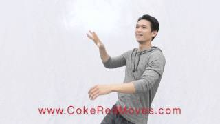 How to do the Coke Red Move with Harry Shum Jr.