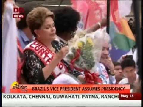 Brazil's President Dilma Rousseff Suspended